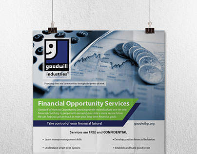 Goodwill Services Poster & Flyer