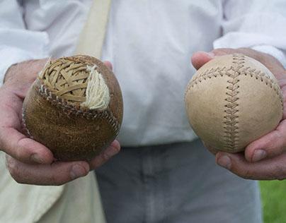 Vintage Baseball Game. The Ohio Muffins vs Zane Greys