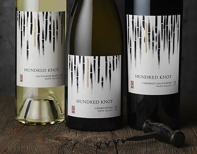 Hundred Knot (RD Winery) Packaging Design & Logo