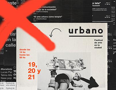 Festival de arte urbano / Urban art festival