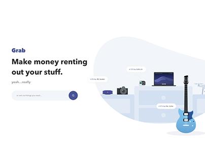 Grab Concept UI