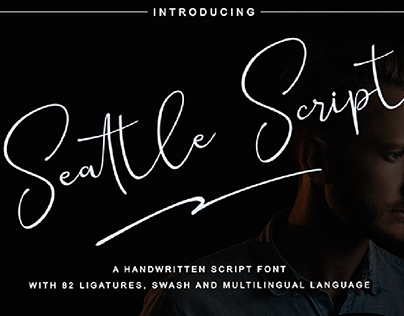 Seattle Script Font