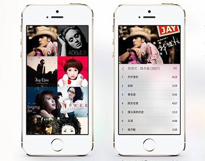 iOS App - Music