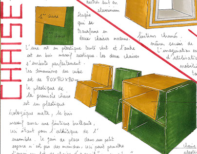 Le cube / BMA ébénisterie