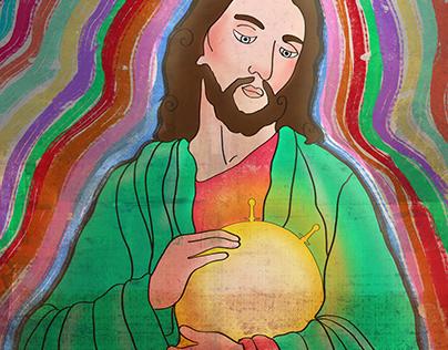 jesus illustrastion