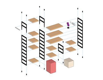 Modular Shelf Design