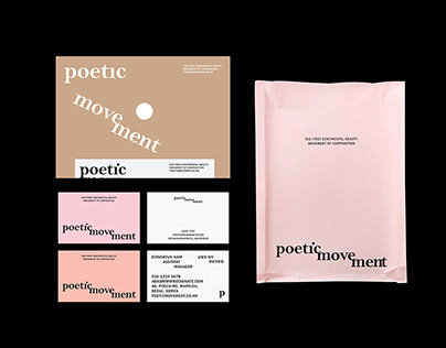 poetic movement Identity & Package design