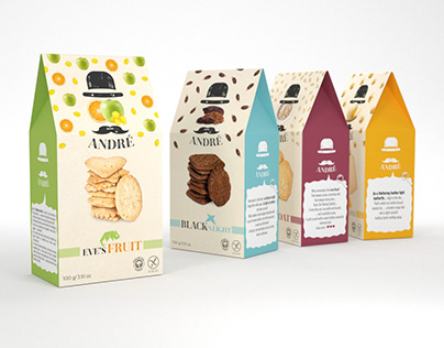 ANDRE – packaging and logo design