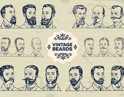 [Vintage Beards] Vectors
