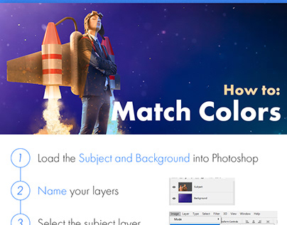 Photoshop Protip: Match Colors