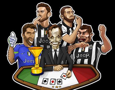 Juventus 33rd Scudetto Celebration Tshirt