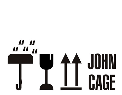 #1 Posters John Cage Project
