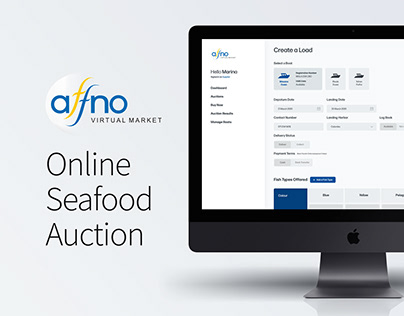Online Seafood Auction