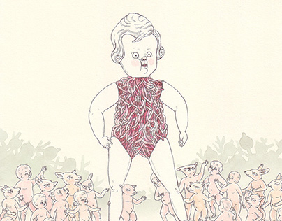 Another Mother   Guest Illustrator for Oh Comely #27