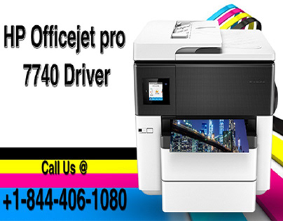 THE HP OFFICEJET PRO 7740 DRIVER DOWNLOADED