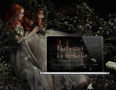 Ekaterina Belinskaya Website Redesign