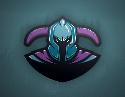 E-knights Logo template