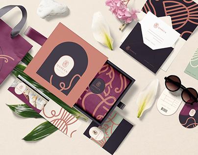 Qsheen brand design.