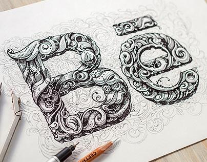 Hand-drawn graphic