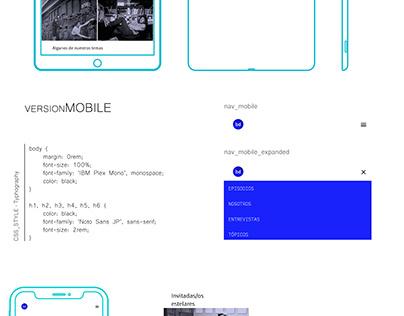 WEB RESPONSIVE | HTML + CSS