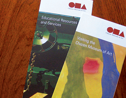 Brand Communications for the Chazen Museum of Art