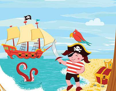 I am a pirate!
