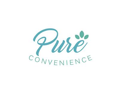 Pure Convenience Logo Design