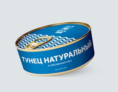 KAM fish&co: логотип и иконки для соцсетей