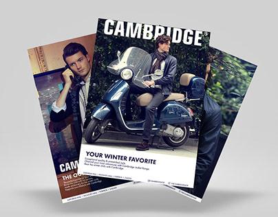 Cambridge Print Ads