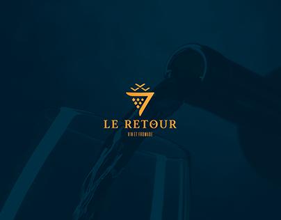Le Retour - Vin Et Fromage Brand Identity