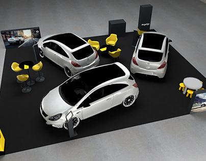 Modular Stands Proposal - Opel