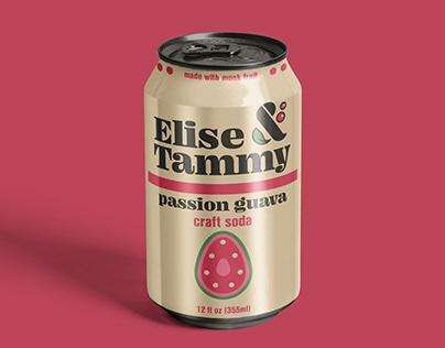 Elise & Tammy Craft Soda Brand