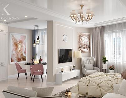 Дизайн квартиры, Москва