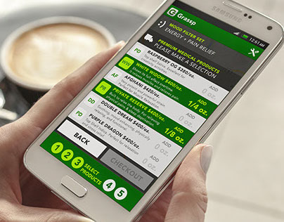 Android Application Design (UI/UX) for Grassp
