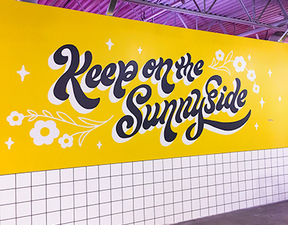 Keep On The Sunnyside Mural