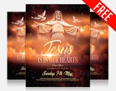 Church – Free Flyer PSD Template