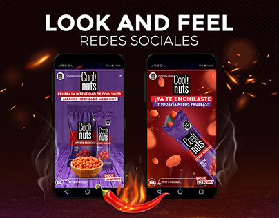 Cool!nuts Redes sociales