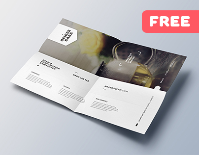 Clean Promotional Poster – Free Flyer Template