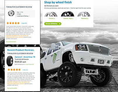 Light Truck landing pg Concept TireBuyer