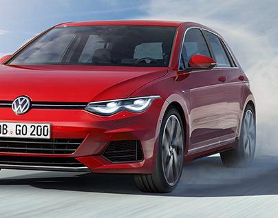 VW Golf VIII - Oct 2018 Larson/AutoBild