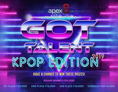 Apex8 KPOP Edition Graphic Design