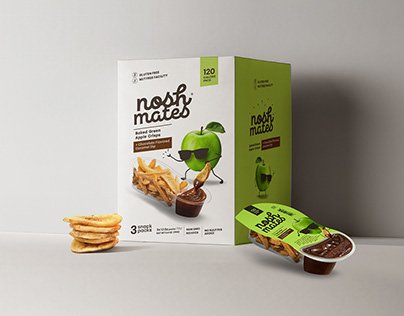 NOSH MATES - BAKED FRUITS AND VEGETABLES