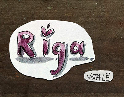 Riga's postcards