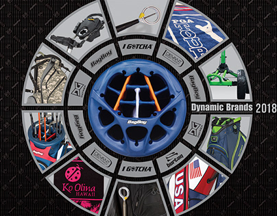Dynamic Brands annual catalog cover