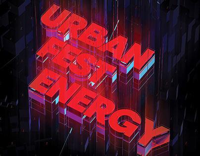 Urban Fest Energy Logo
