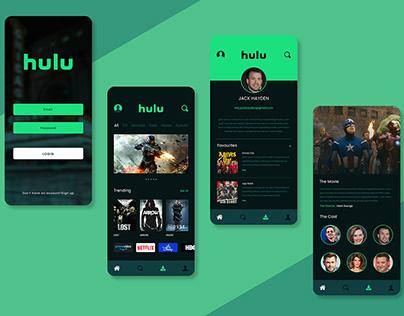Hulu App Redesign
