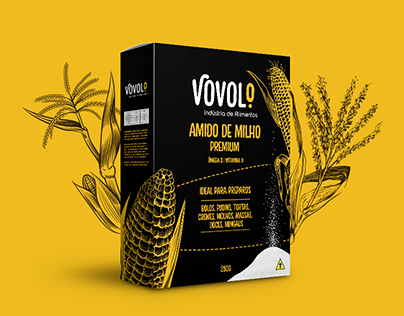 Embalagem | Amido de milho