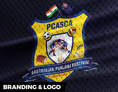 Punjabi Sports Festival Logo Design