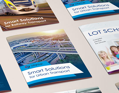 Set of booklets for LOT-group company