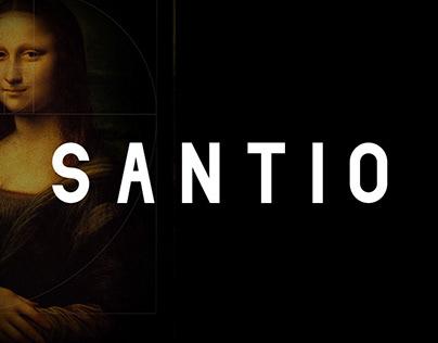 Santio | Free Type Family